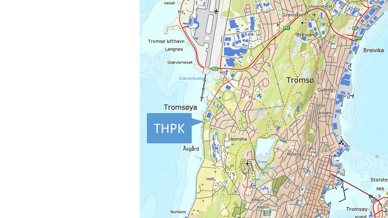 kart over tromsøya Kart over THPK | Tromsø Havpadleklubb kart over tromsøya